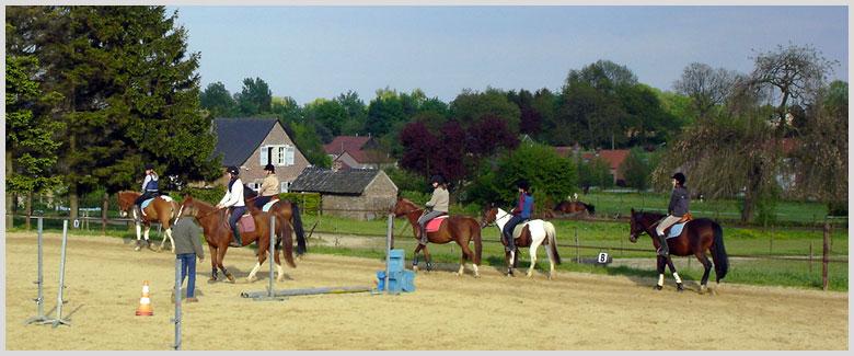 Nos cours d'équitation