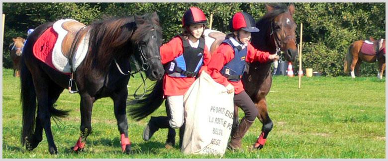 stage d'equitation - jeux equestres
